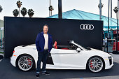 Audi Arrivals at Hilarity for Charity's Sixth Annual...