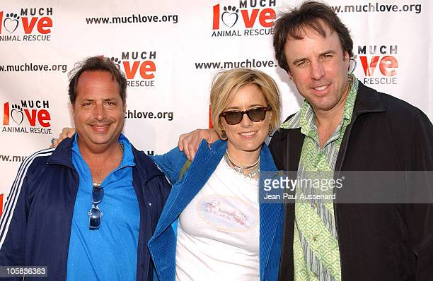 Jon Lovitz Tea Leoni and Kevin Nealon during Much Love Animal Rescue 'Shop 'Til You Drool' Benefit at 5th and Sunset Studios Los Angeles in Los...