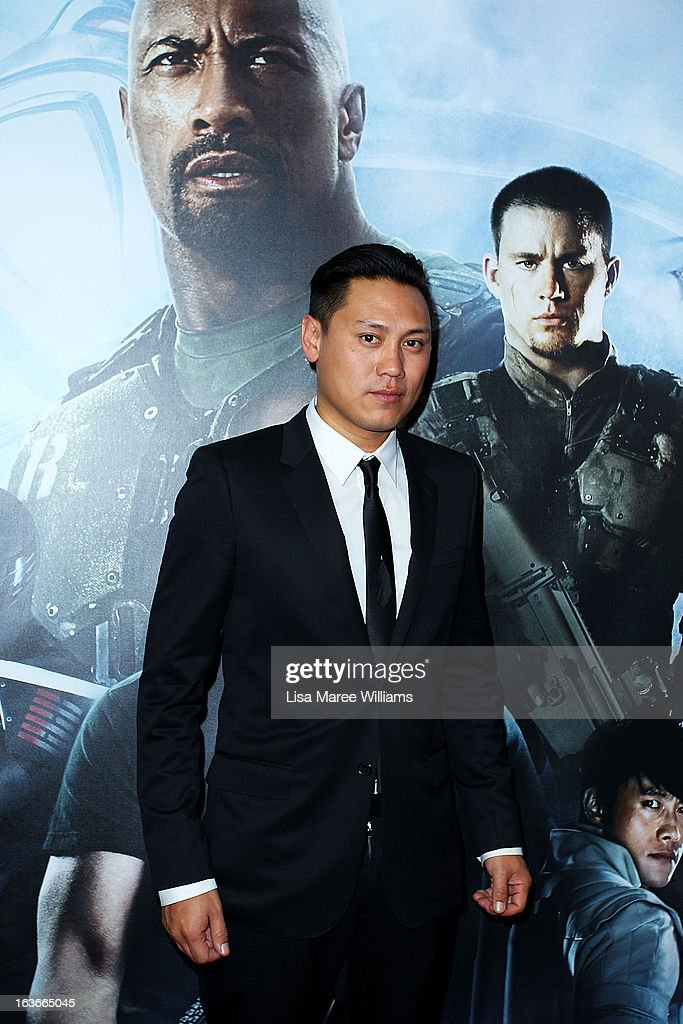 Jon M. Chu arrives at the 'G.I.Joe: Retaliation' - Australian Premiere at Event Cinemas George Street on March 14, 2013 in Sydney, Australia.
