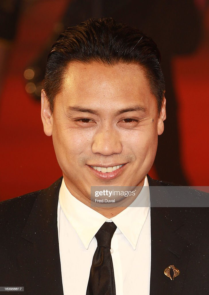 Jon M.Chu attends the UK film premiere of 'G.I. Joe: Retaliation' at The Empire Cinema on March 18, 2013 in London, England.
