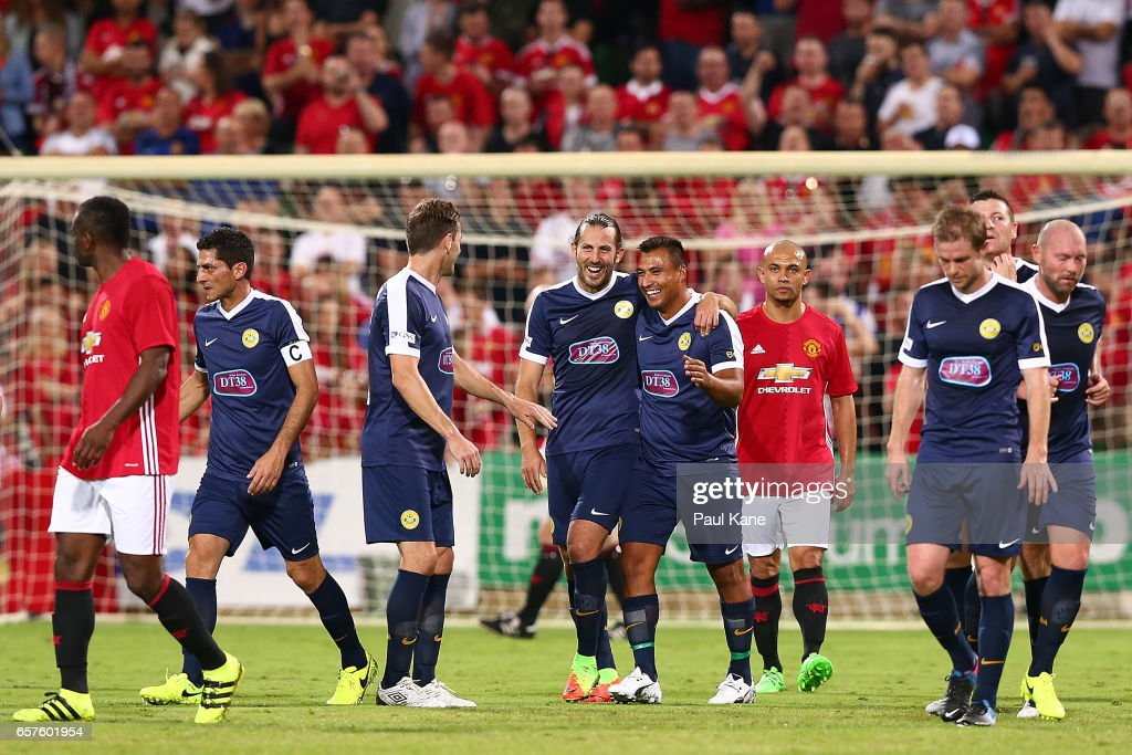 Manchester United Legends v PFA Aussie Legends