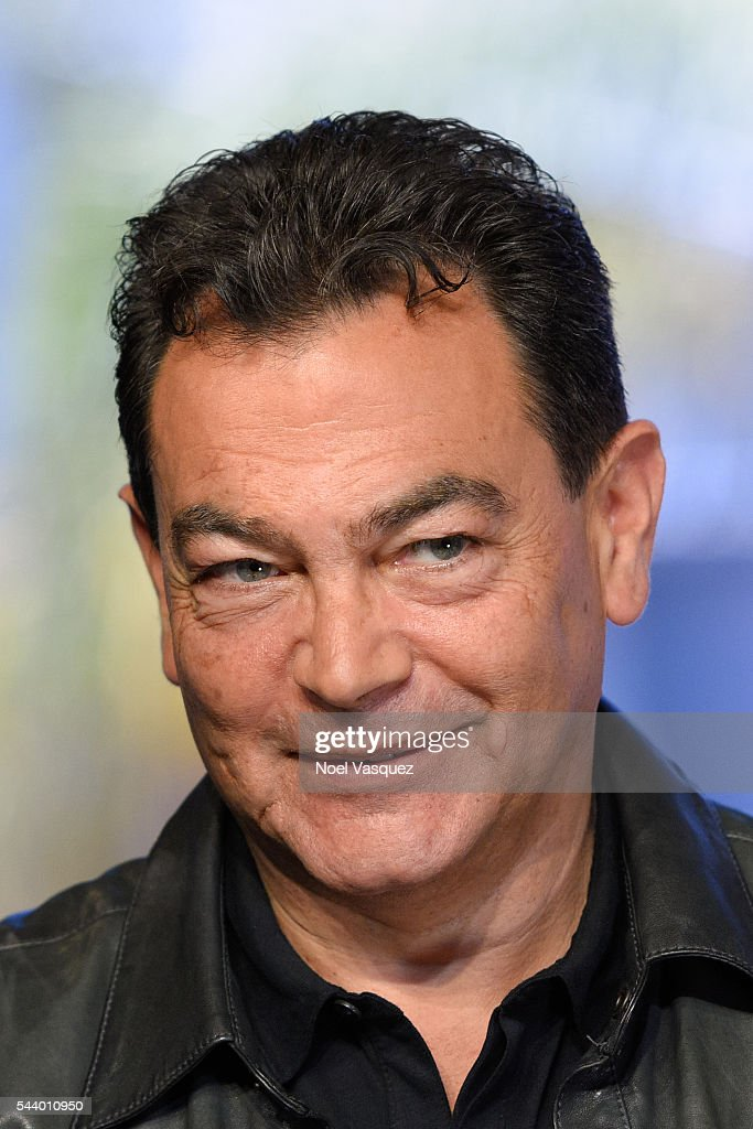 Jon Moss visits 'Extra' at Universal Studios Hollywood on June 28, 2016 in Universal City, California.