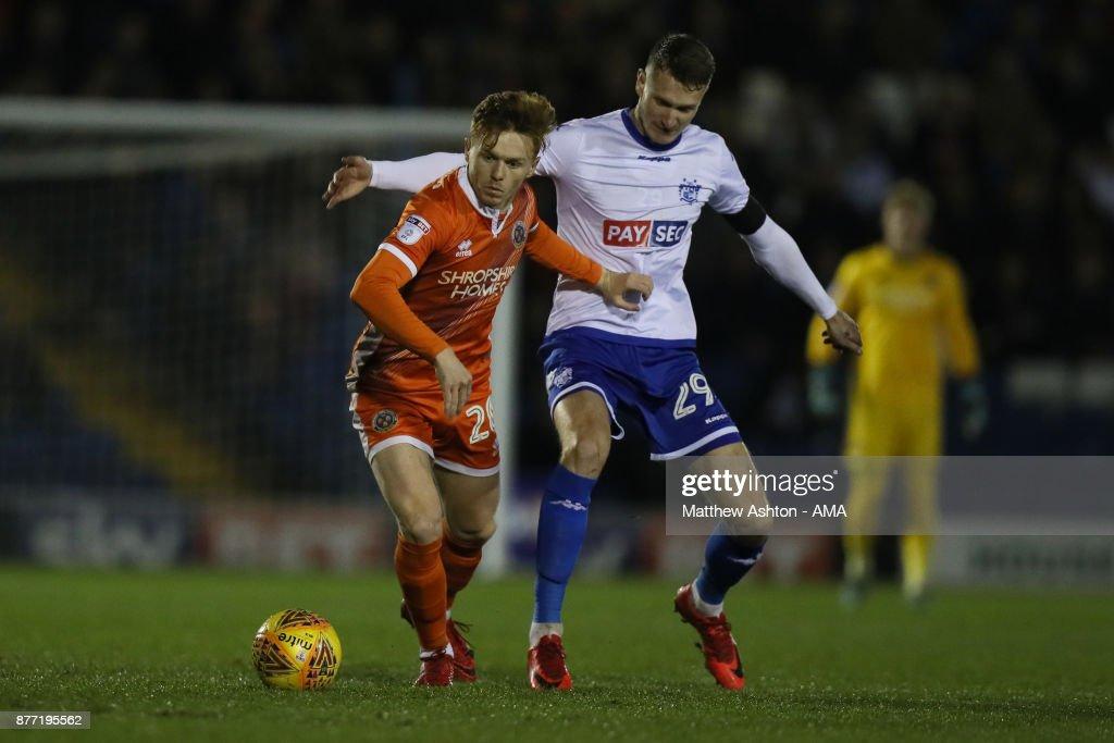Bury v Shrewsbury Town - Sky Bet League One