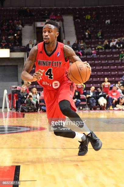 Jon Octeus of the Windy City Bulls drives to the basket against the Raptors 905 on March 30 2017 in Mississauga Ontario Canada NOTE TO USER User...
