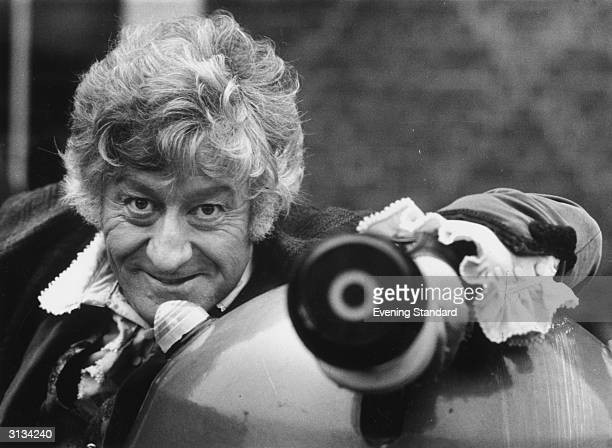 Jon Pertwee takes over the role of Dr Who in a new BBC series of 'The Daleks'