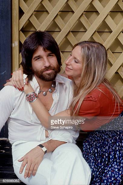 Jon Peters and Barbara Streisand