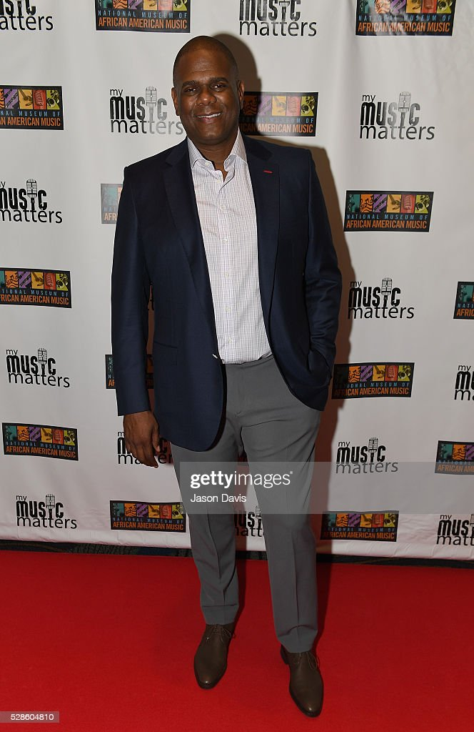 Jon Platt, Chairman & CEO of Warner/Chappell Music attends NMAAM's Celebration Of Legends Red Carpet And Luncheon on May 6, 2016 in Nashville, Tennessee.
