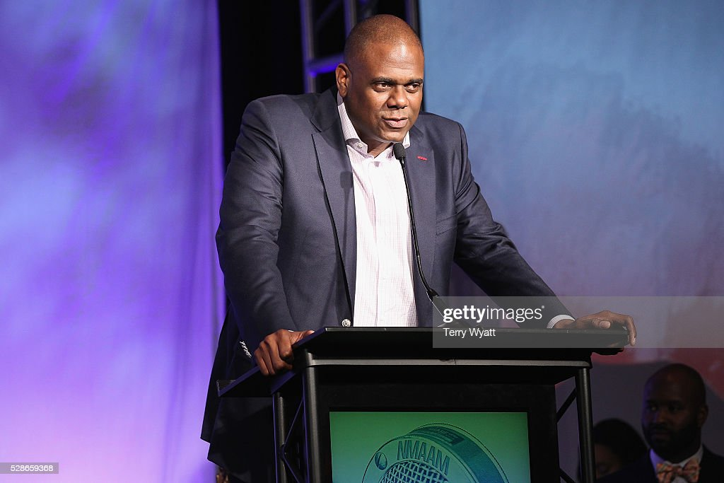 Jon Platt, Chairman & CEO of Warner/Chappell Music speaks onstage during NMAAM's Celebration Of Legends Red Carpet And Luncheon on May 6, 2016 in Nashville, Tennessee.