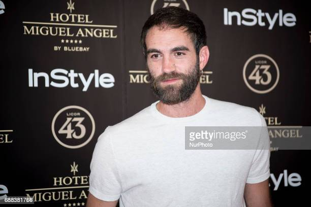 Jon Plazaola attends El Jardin del Miguel Angel party photocall at Miguel Angel hotel on May 24 2017 in Madrid Spain
