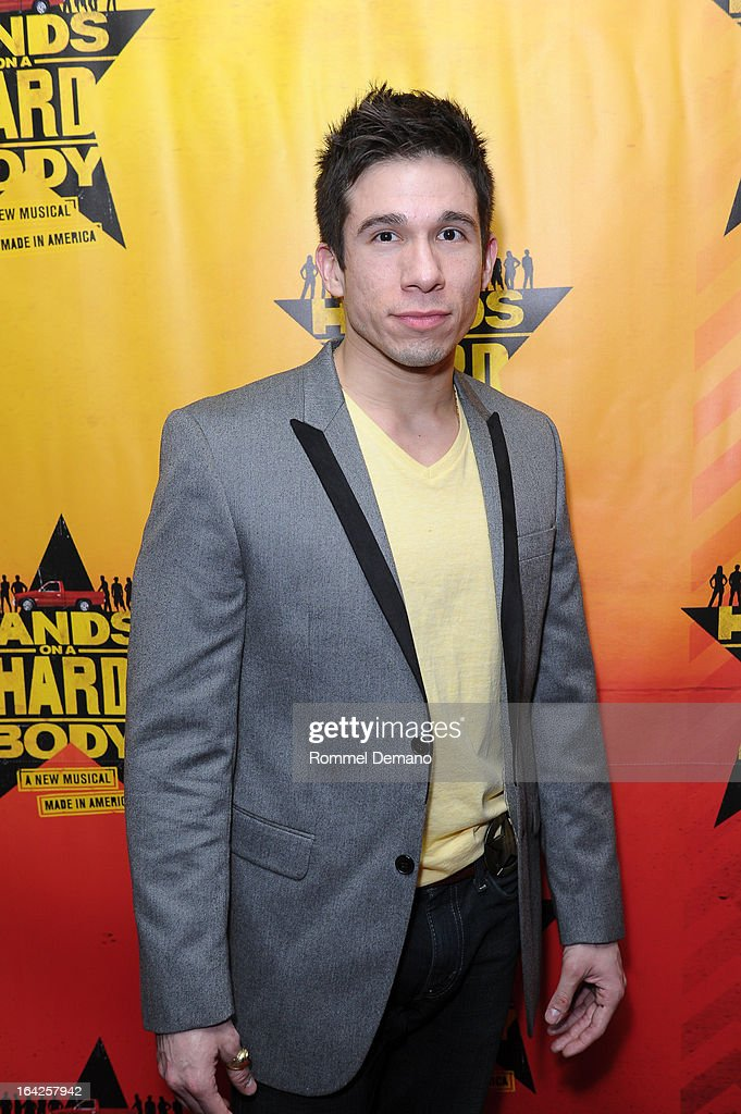 Jon Rua attends the 'Hands On A Hard Body' Broadway Opening Night After Party at Roseland Ballroom on March 21, 2013 in New York City.