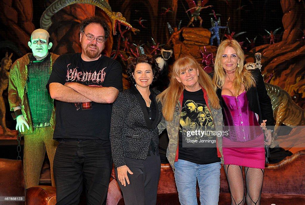 Jon Schnepp Heather Langenkamp PJ Soles and Patty Mullen on the 'Death Becomes Her' panel at Kirk Von Hammett's Fear FestEvil at Grand Regency...