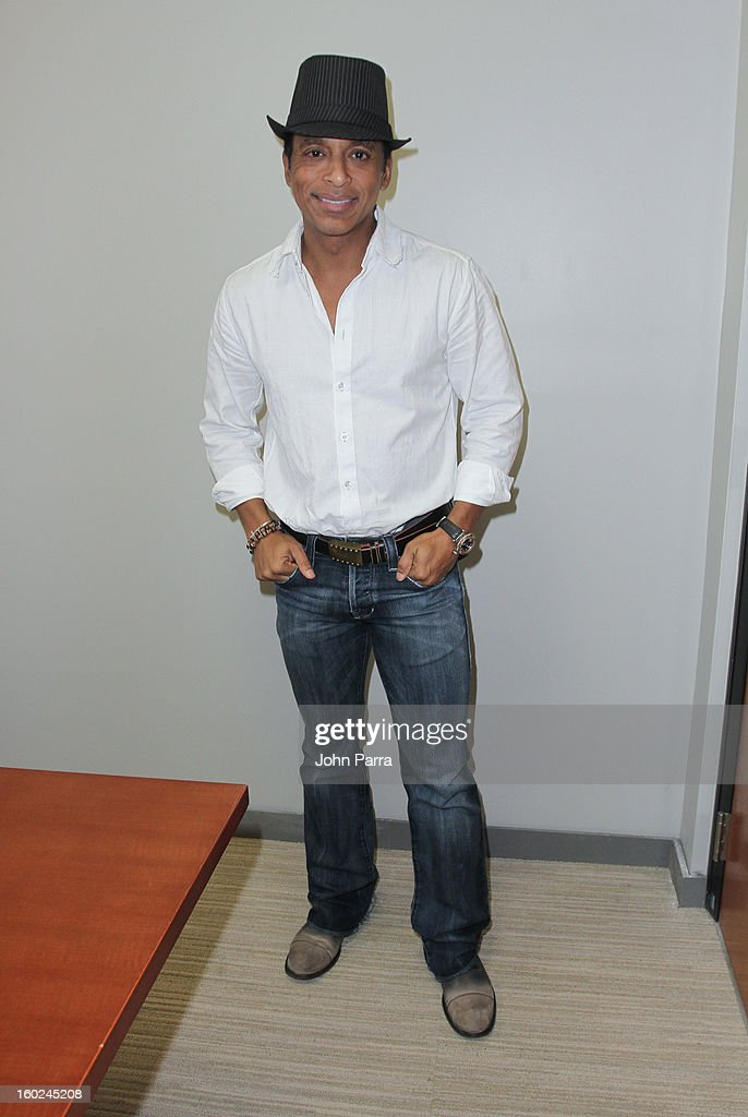Jon Secada attends Latin Songwriters Hall Of Fame announcement on January 28, 2013 in Miami, Florida.