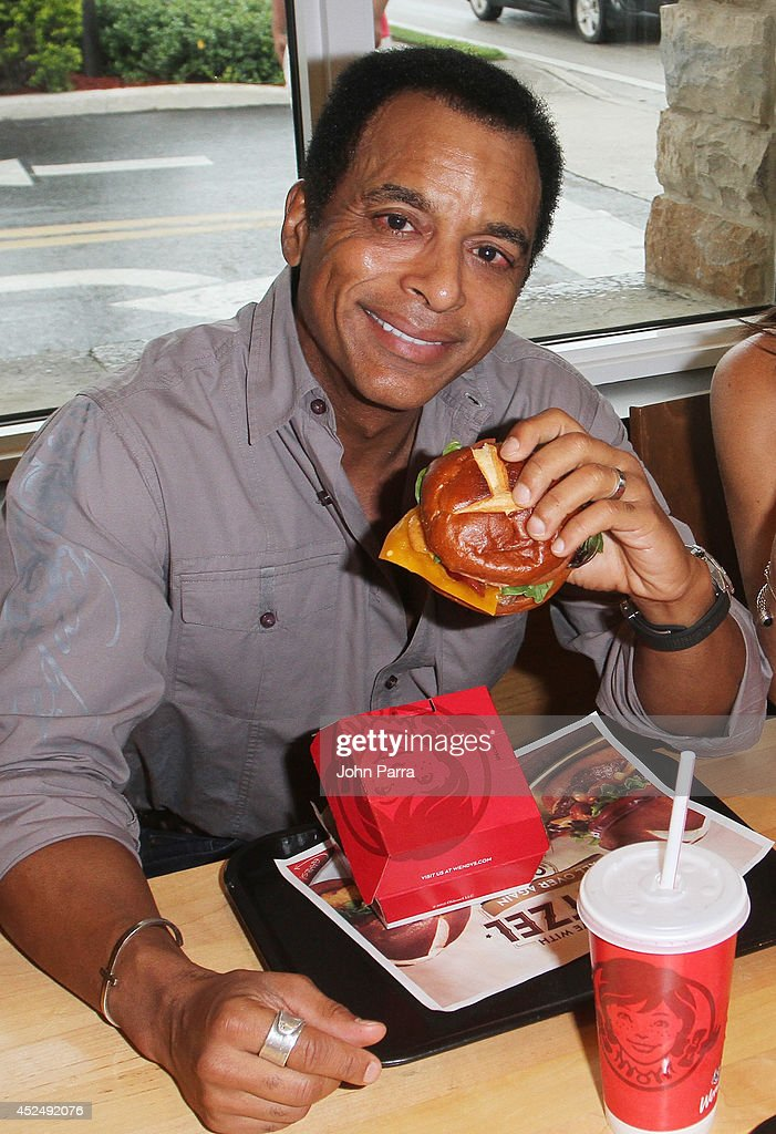 Jon Secada  two time Grammy Award winner  stops by his childhood Wendys restaurant