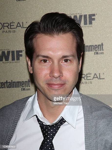 Jon Seda arrives at the Entertainment Weekly and Women In Film preEMMY party held at The Sunset Marquis Hotel on August 27 2010 in West Hollywood...