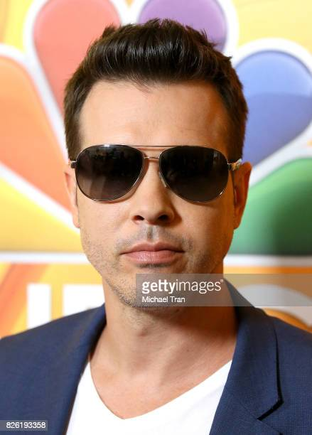 Jon Seda arrives to the 2017 Summer TCA Tour NBC Press Tour held at The Beverly Hilton Hotel on August 3 2017 in Beverly Hills California