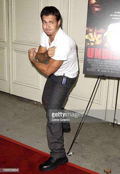 Jon Seda during 'Undisputed' Premiere at Mann Festival in Westwood California United States