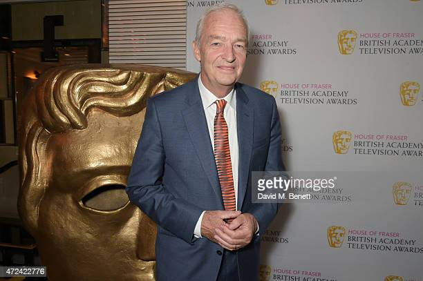 Jon Snow attends a lunch to celebrate Jon Snow being awarded the BAFTA Fellowship at the Corinthia Hotel London on May 7 2015 in London England