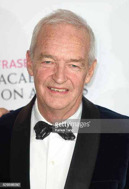 Jon Snow poses in the winners room at the House Of Fraser British Academy Television Awards 2016 at the Royal Festival Hall on May 8 2016 in London...