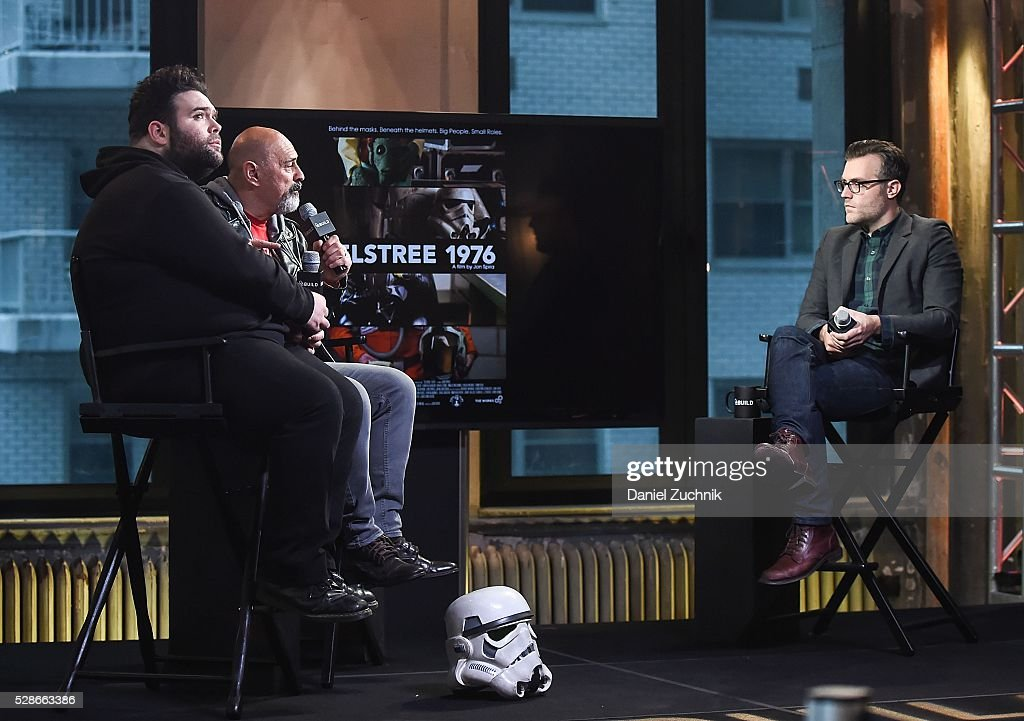 Jon Spira and Anthony Forrest attend AOL Build to discuss 'ELSTREE 1976' on May 06, 2016 in New York, New York.