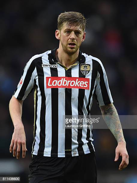 Jon Stead of Notts County looks on during the Sky Bet League Two match between Notts County and Leyton Orient at Meadow Lane on February 20 2016 in...