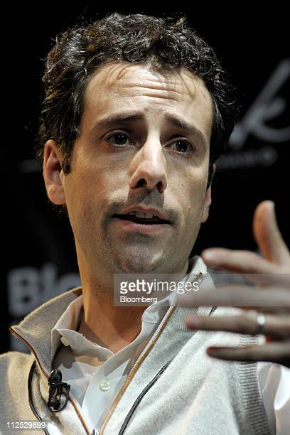 Jon Steinberg president of BuzzFeed Inc speaks at Bloomberg Link Empowered Entrepreneur Summit in New York US on Thursday April 14 2011 The Bloomberg...