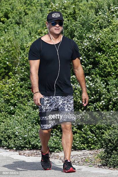 Jon Stevens enjoys a solo coastal walk on February 9 2016 in Sydney Australia