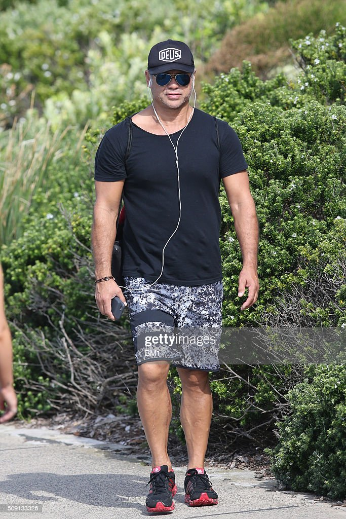 Jon Stevens enjoys a solo coastal walk on February 9, 2016 in Sydney, Australia.