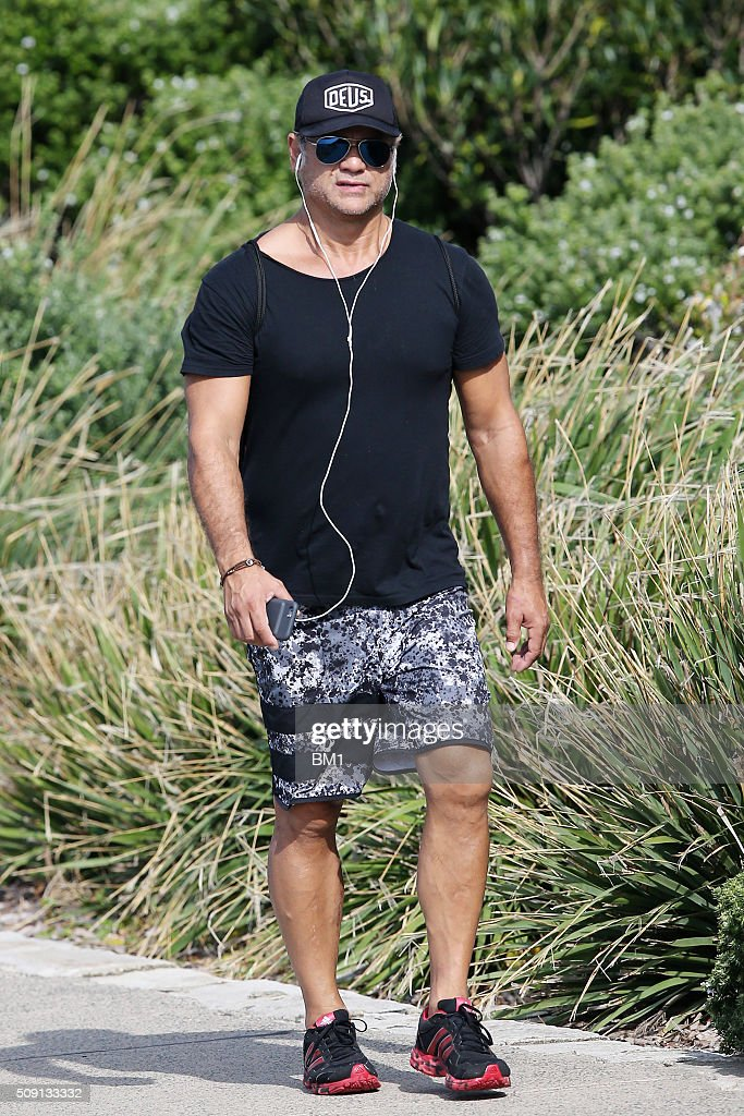 <a gi-track='captionPersonalityLinkClicked' href=/galleries/search?phrase=Jon+Stevens+-+Singer&family=editorial&specificpeople=13895181 ng-click='$event.stopPropagation()'>Jon Stevens</a> enjoys a solo coastal walk on February 9, 2016 in Sydney, Australia.