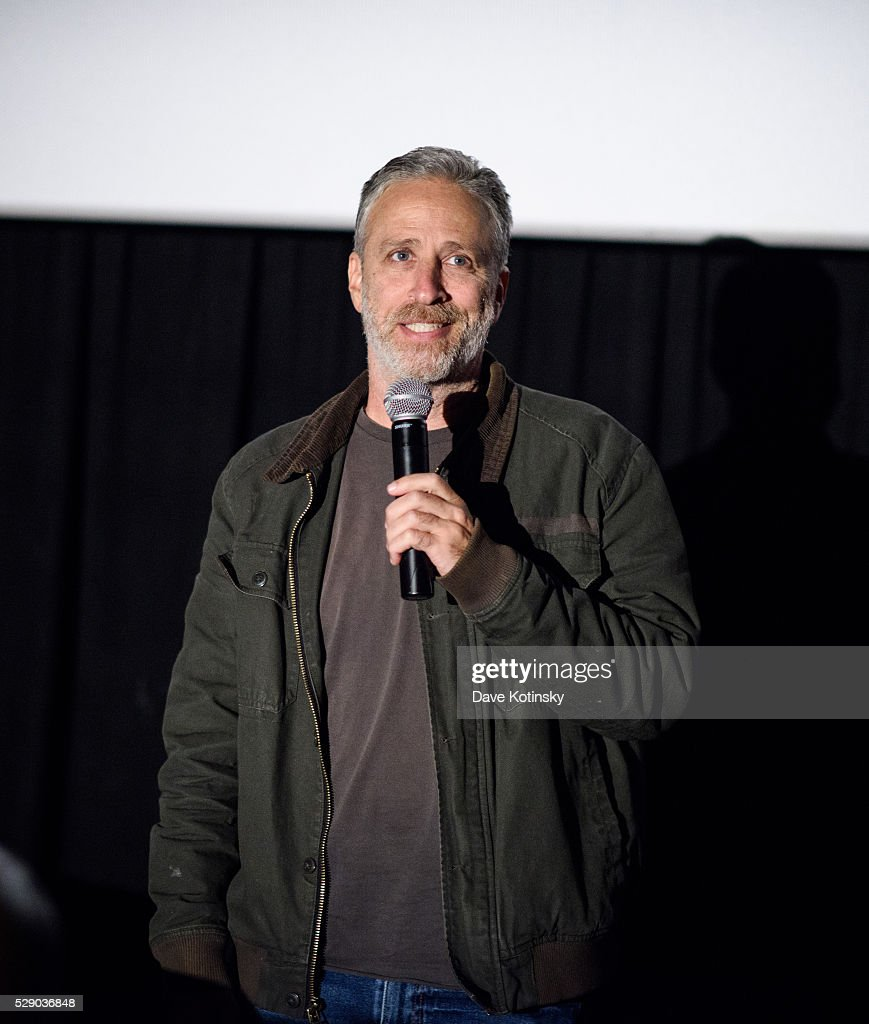 Jon Stewart attends the Montclair Film Festival 2016 on May 7, 2016 in Montclair City.