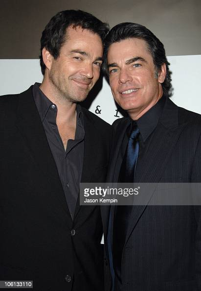Jon Tenney and Peter Gallagher during The New York Stage And Film Winter Gala November 19 2006 at The Copacabana in New York City New York United...