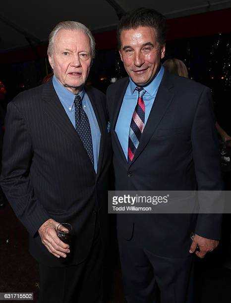 Jon Voight and Billy Baldwin attend the Hallmark Channel And Hallmark Movies And Mysteries Winter 2017 TCA Press Tour at The Tournament House on...