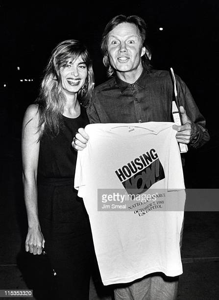 Jon Voight and Eileen Davidson during 'Fiddler on the Roof' AfterParty at Los Angeles Music Center in Los Angeles California United States