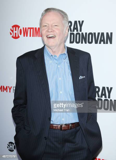 Jon Voight arrives at Showtime's 'Ray Donovan' special screening and panel discussion held at Leonard H Goldenson Theatre on April 28 2014 in North...