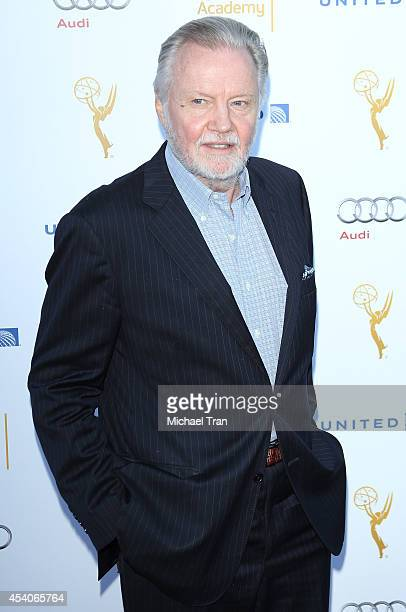 Jon Voight arrives at the Television Academy Performers Nominee Reception for The 66th Emmy Awards held at Spectra by Wolfgang Puck at the Pacific...