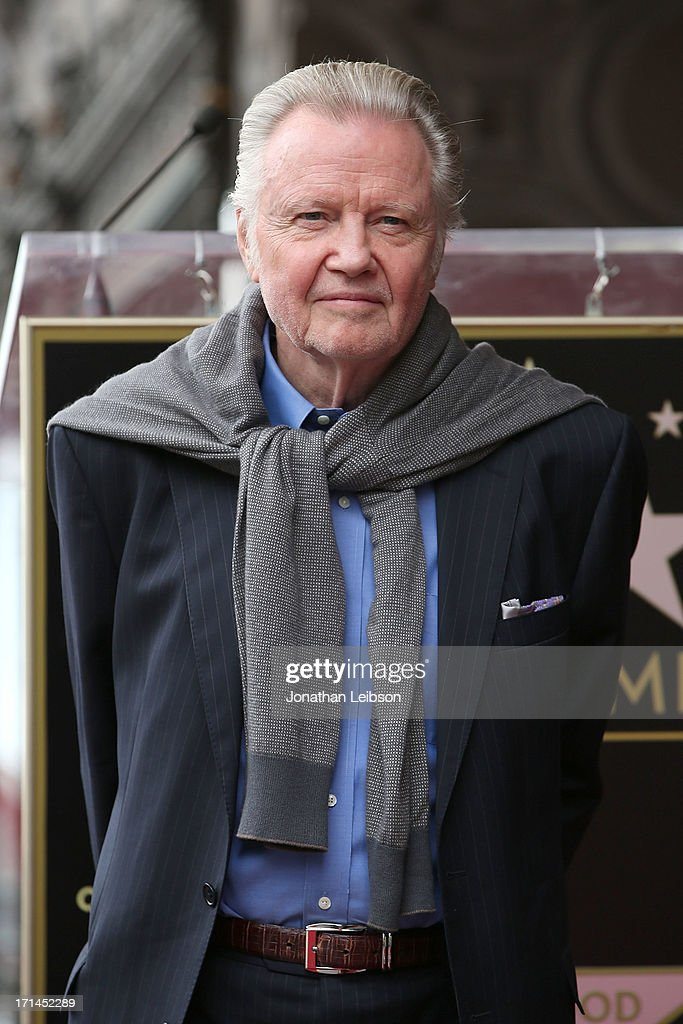 <a gi-track='captionPersonalityLinkClicked' href=/galleries/search?phrase=Jon+Voight&family=editorial&specificpeople=202872 ng-click='$event.stopPropagation()'>Jon Voight</a> attends the ceremony honoring Jerry Bruckheimer with a Star on The Hollywood Walk of Fame held in front of El Capitan Theatre on June 24, 2013 in Hollywood, California.