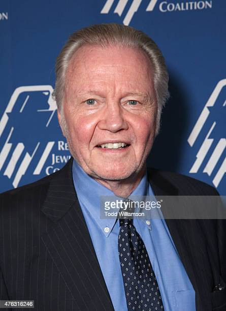 Jon Voight attends the Republican Jewish Coalition Summer Gala at Regent Beverly Wilshire Hotel on June 7 2015 in Beverly Hills California