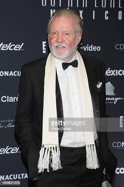 Jon Voight attends the Sophia Loren's 80th birthday dinner at Museo Soumaya on September 20 2014 in Mexico City Mexico