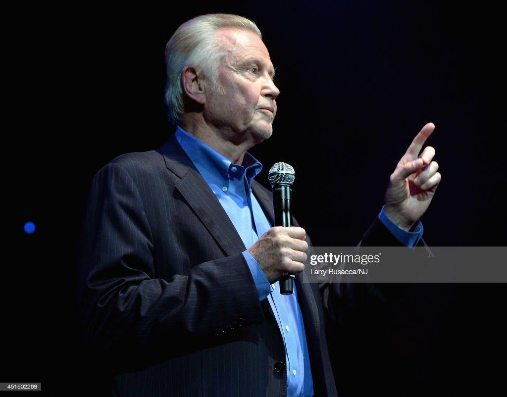 <a gi-track='captionPersonalityLinkClicked' href=/galleries/search?phrase=Jon+Voight&family=editorial&specificpeople=202872 ng-click='$event.stopPropagation()'>Jon Voight</a> hosts Playin' Possum! The Final No Show Tribute To George Jones - Show at Bridgestone Arena on November 22, 2013 in Nashville, Tennessee.