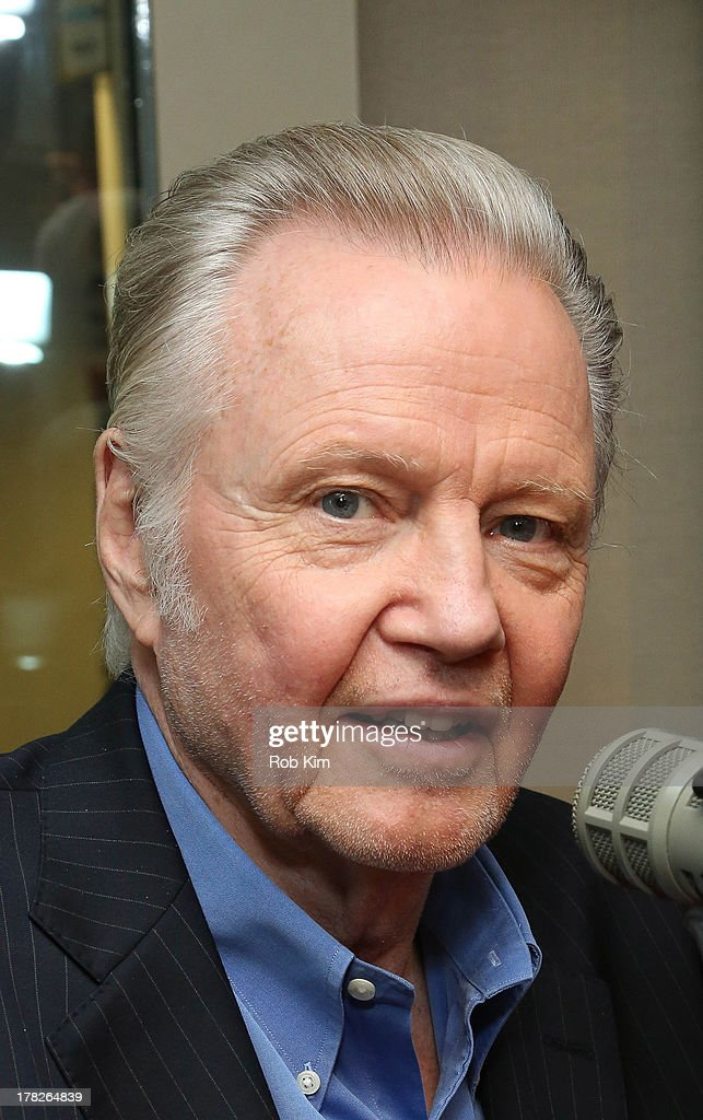 <a gi-track='captionPersonalityLinkClicked' href=/galleries/search?phrase=Jon+Voight&family=editorial&specificpeople=202872 ng-click='$event.stopPropagation()'>Jon Voight</a> visits 'TV Recap' on Entertainment Weekly Radio at SiriusXM Studios on August 28, 2013 in New York City.