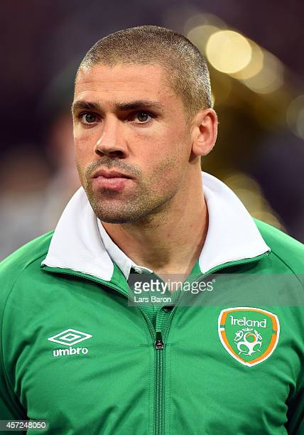 Jon Walters of Republic of Ireland looks on during the EURO 2016 Group D qualifying match between Germany and Republic of Ireland on October 14 2014...