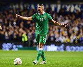 Jon Walters of the Republic of Ireland during the Euro 2016 playoff second leg match between the Republic of Ireland and BosniaHerzegovina at Aviva...