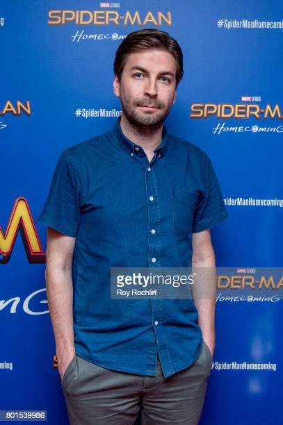 Jon Watts attends 'Spiderman Homecoming' New York First Responders' screening at Henry R Luce Auditorium at Brookfield Place on June 26 2017 in New...