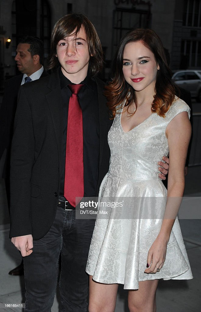 Jonah Bobo and Haley Ramm as seen on April 8 2013 in New York City