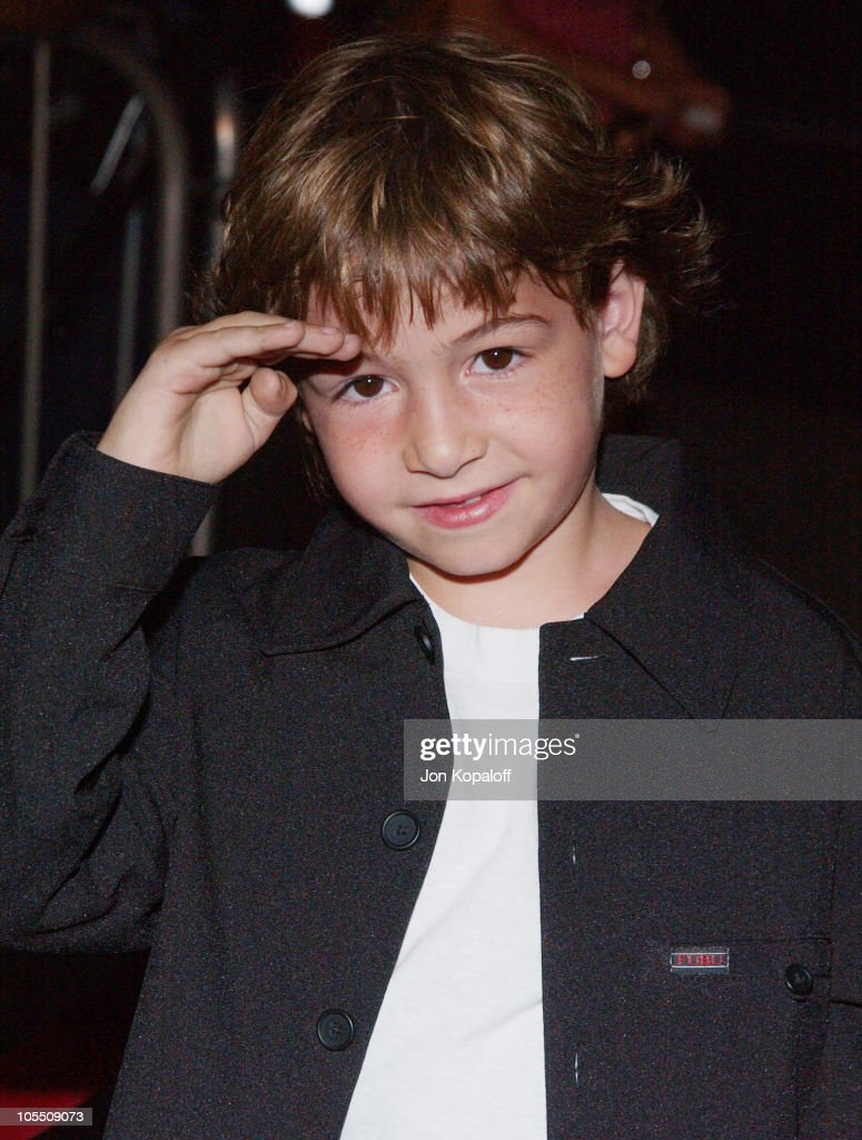 Jonah Bobo during 'Around The Bend' Los Angeles Premiere Arrivals at Directors Guild of America in Los Angeles California United States