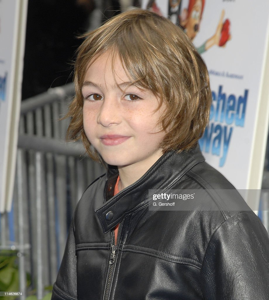 Jonah Bobo during 'Flushed Away' New York Premiere at AMC Lincoln Square in New York City New York United States