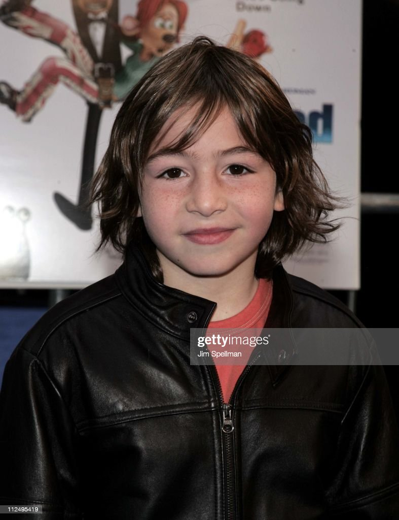 Jonah Bobo during 'Flushed Away' New York Premiere Outside Arrivals at AMC Lincoln Square in New York City New York United States