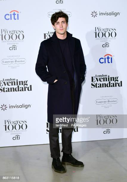 Jonah HauerKing at the London Evening Standard's annual Progress 1000 in partnership with Citi and sponsored by Invisalign UK held in London