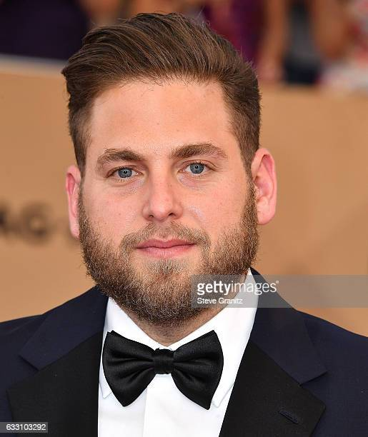 Jonah Hill arrives at the 23rd Annual Screen Actors Guild Awards at The Shrine Expo Hall on January 29 2017 in Los Angeles California