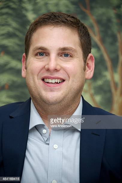 Jonah Hill at 'The Wolf Of Wall Street' Press Conference at The London Hotel on December 5 2013 in New York City