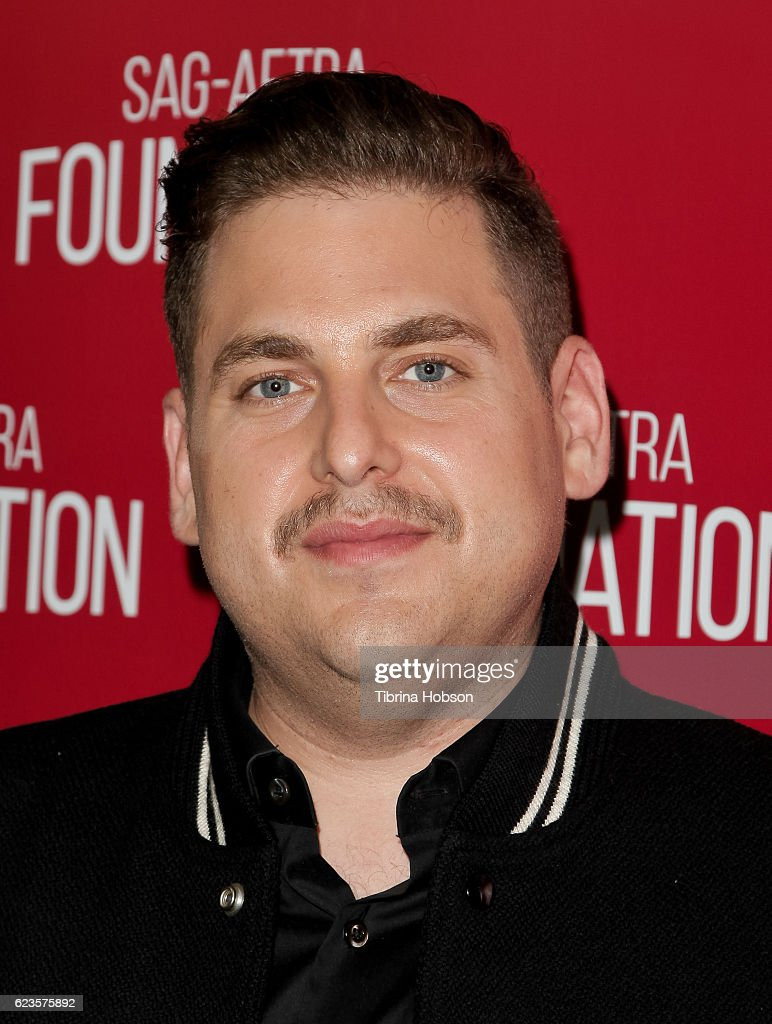Jonah Hill attends SAG-AFTRA Foundation's Conversations for 'War Dogs' at SAG Foundation Actors Center on November 15, 2016 in Los Angeles, California.